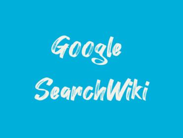 Titelbild Google SearchWiki