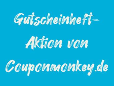 Titelbild Gutscheinheft-Aktion von Couponmonkey.de