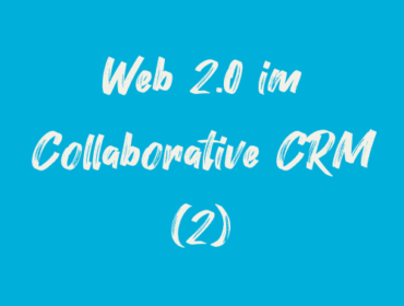 Titelbild Web 2.0 im Collaborative CRM (2)