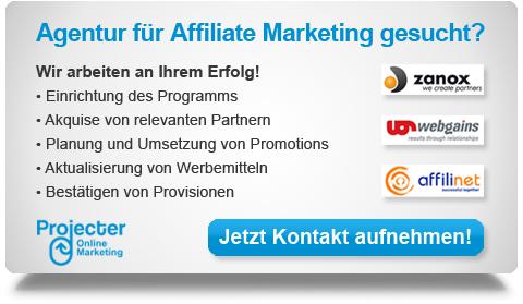 Affiliate Marketing Agentur