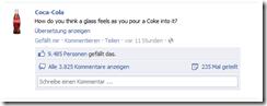 cocacola facebook