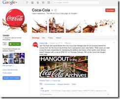 cola googleplus profil