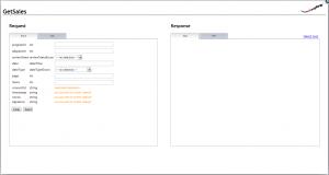 zanox API Explorer-Screenshot