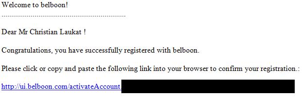 Emailadresse verifizieren