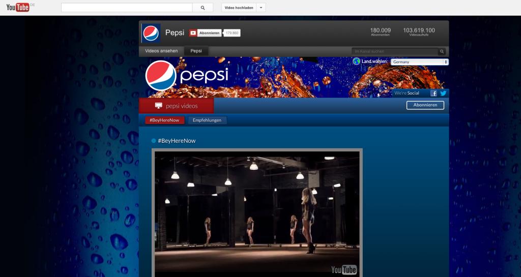 Brand Channel Pepsi