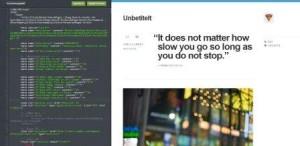 HTML-Eingabe und Vorschau
