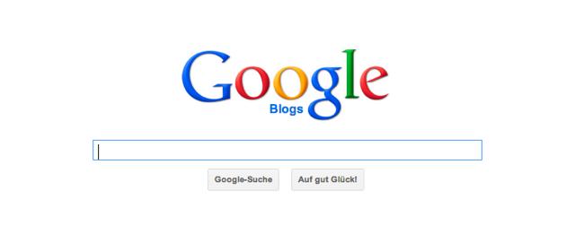 Google Blogsuche