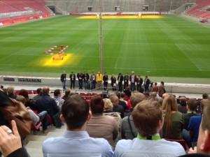 SEO DAY Eröffnung im Kölner Rheinenergie Stadion