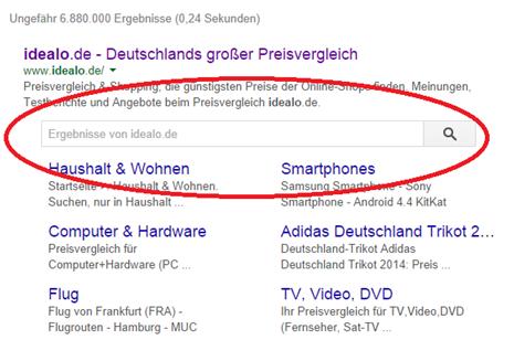Suchschlitz
