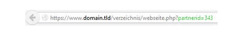 Abbildung 2: Beispiel einer fiktiven Tracking URL