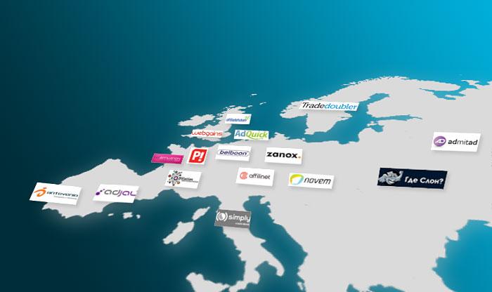 Affiliate Netzwerke in Europa