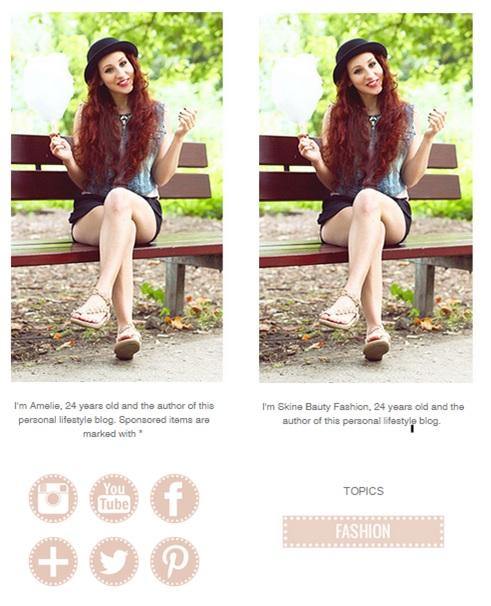 Original-Website (oben) und Klon (unten) im Vergleich (Abrufdatum 19.01.2015).