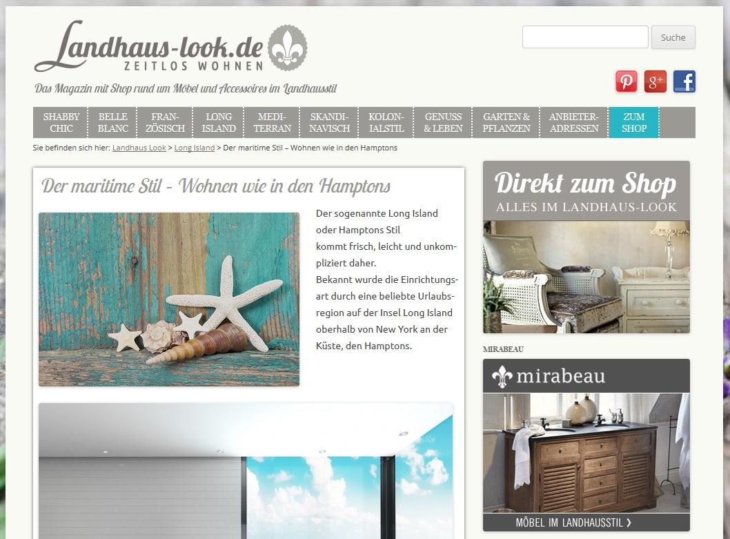 Beispiel für eine gute Content-Affiliate-Seite bei unserem Partnerprogramm Pharao24