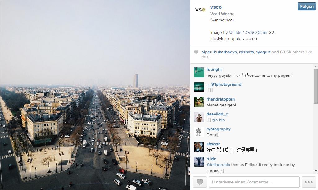Instagrambild belebte Bilder