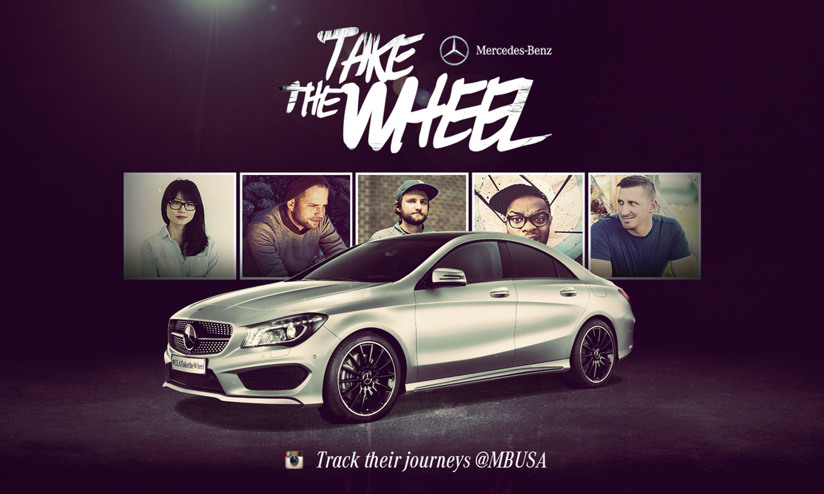 Take the Wheel-Kampagne Mercedes
