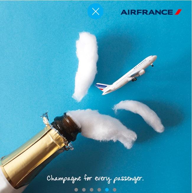 Instagram J.Perez für Airfrance