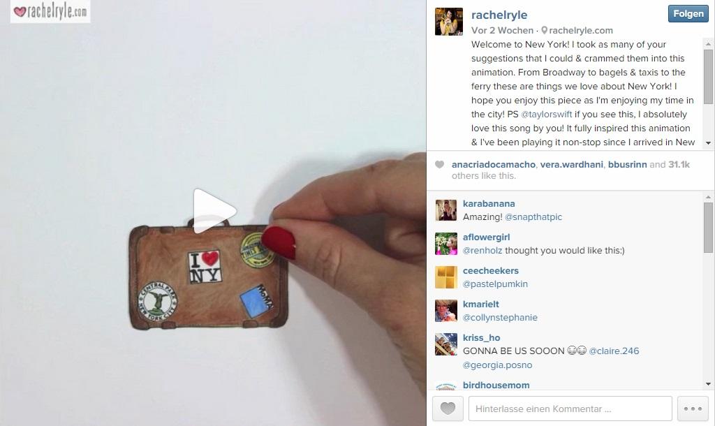 Instagram Rachel Ryle