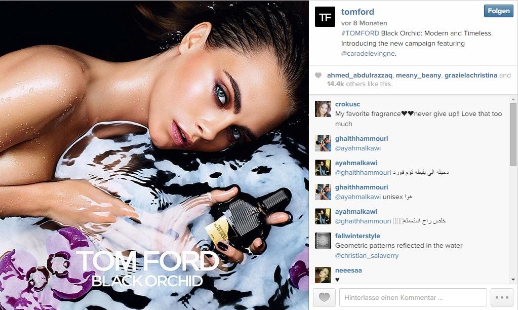 Instagram Tom Ford
