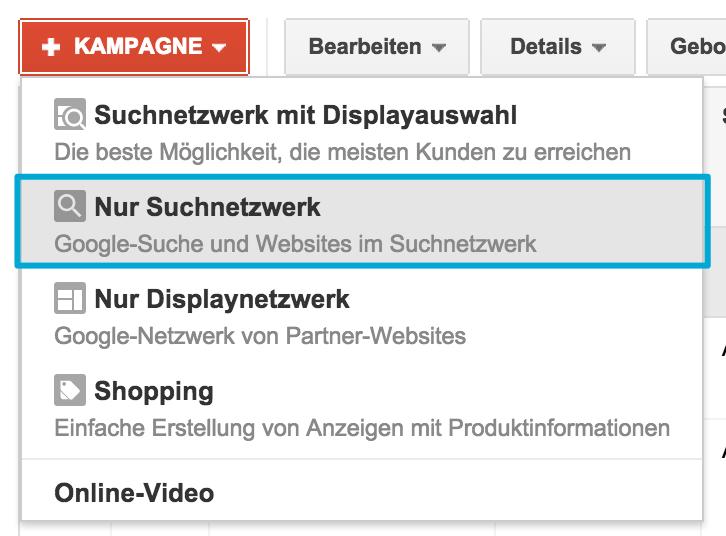 DSA - Nur Suchnetzwerke