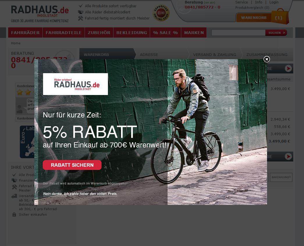 Radhaus Beispiel