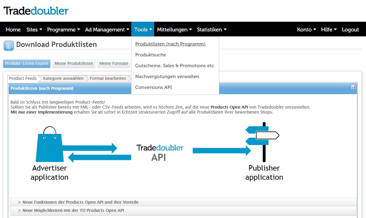 10-tradedoubler-produktlisten