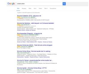 4 Google Anzeigen