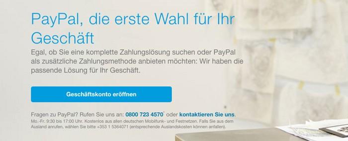 PayPal - Beispiel