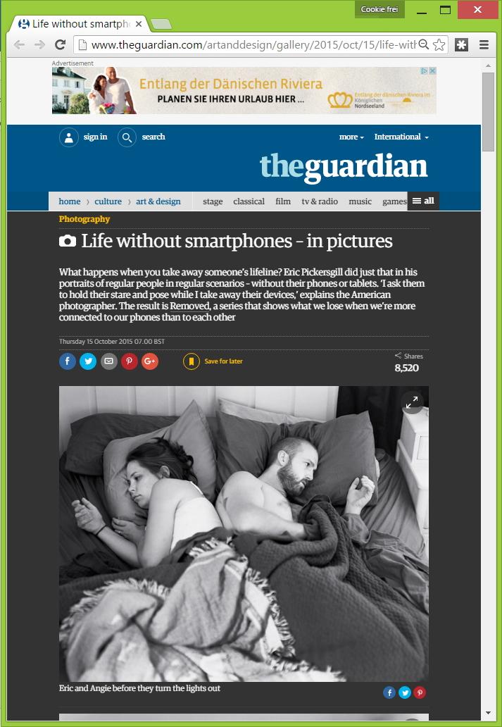 "Fotostudio ""Life without smartphones"""