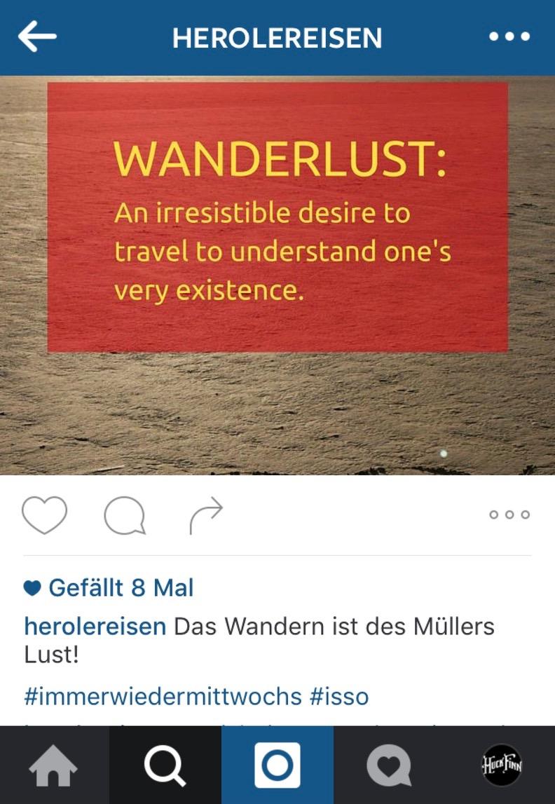 Instagram Likes als Zahl (Beispiel)