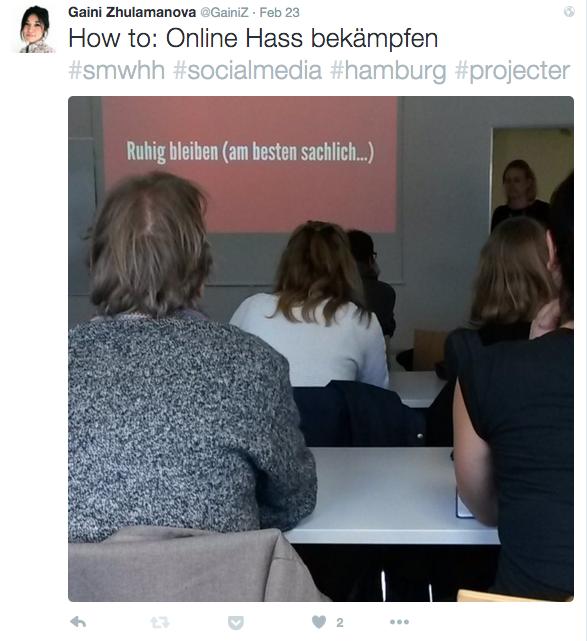 How to Online Hass bekämpfen
