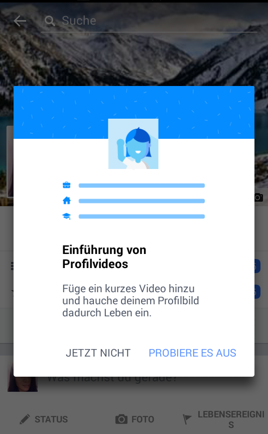 Profilvideo FB