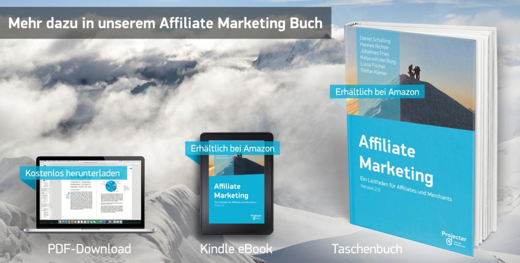 Mehr Infos in unserem Affiliate Marketing eBook