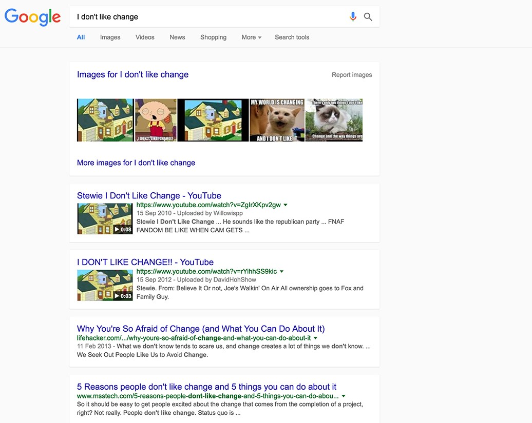 Kartenlayouts bei Google