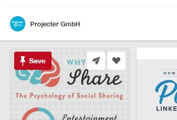 Save Button Pinterest