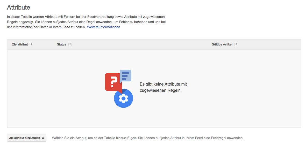 Feed-Tab Google Shopping
