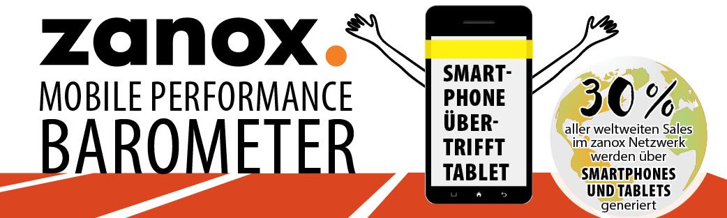 Mobile Performance Barometer von Zanox