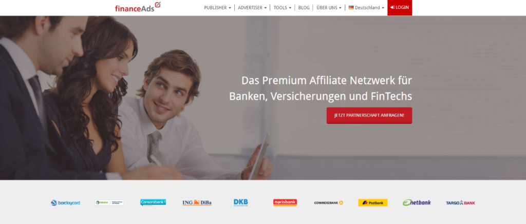 Best Affiliate Network financeAds