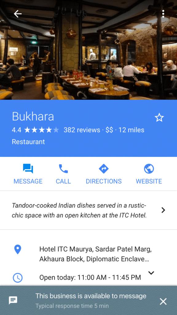 Google testet erste Chat-Funktion mit Unternehmen in den Suchergebnissen