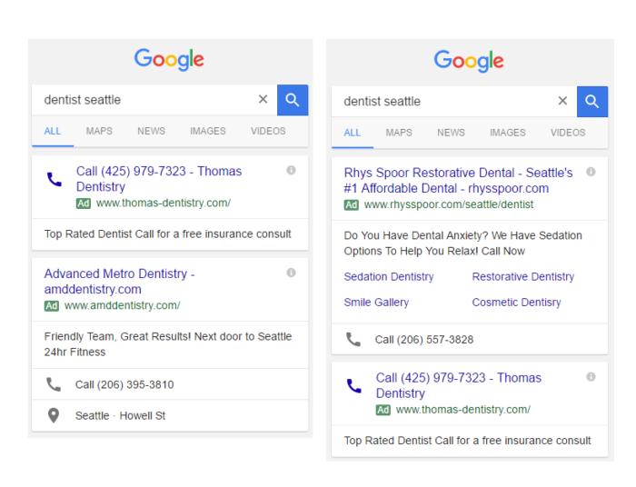 Google Anzeigentest