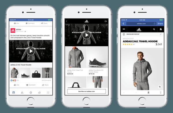 Neues Facebook Werbeformat Collection