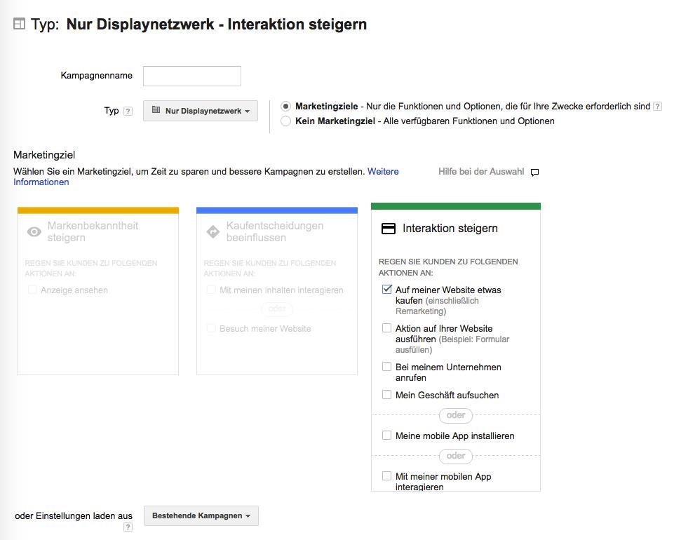 Dynamische Remarketing Anzeigen im Google AdWords erstellen