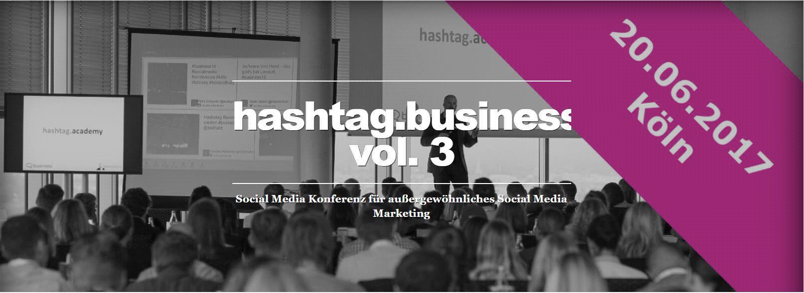Freikarten für die hashtag.business in Köln