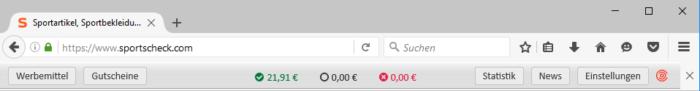 Affilinet Toolbar für Affiliate