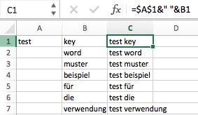 Keyword-Listen erstellen ohne das Keyword-Tool