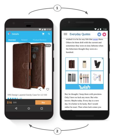 Dynamisches Remarketing für Apps