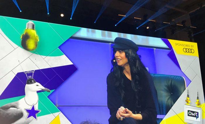 Sophia Amoruso auf der OMR-Bühne