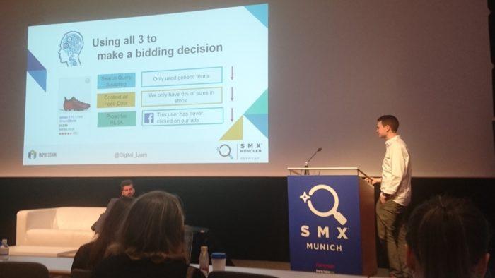 Christian Scharmüller & Liam Wade auf der SMX München 2018: Advanced Google Shopping