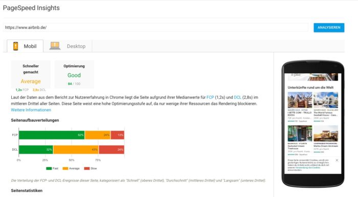Google nutzt ab sofort Nutzerdaten zur Bewertung des Page Speeds