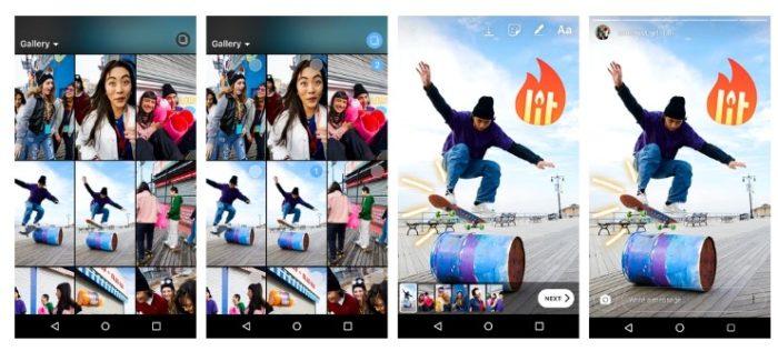 Instagram Stories Bulk Upload möglich