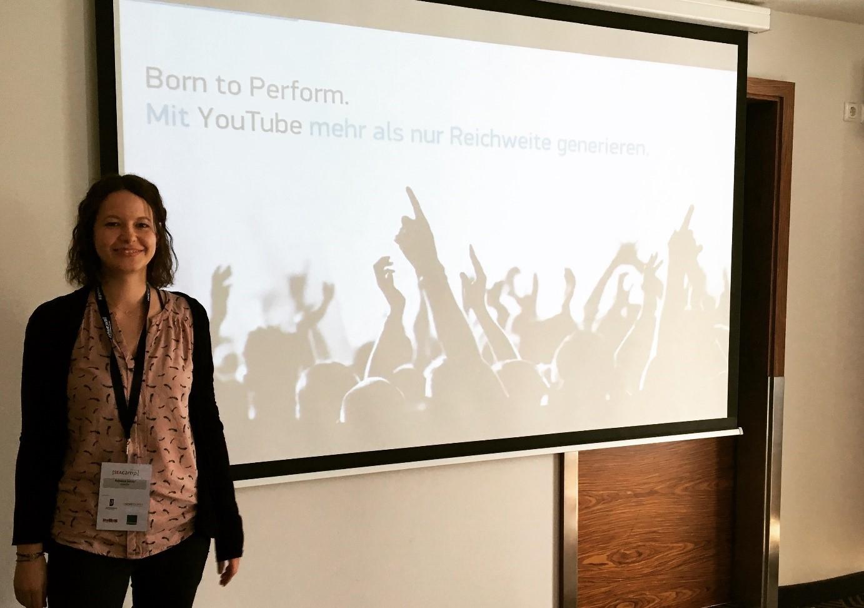 Rebecca Seidel Born to Perform. Mit YouTube mehr als nur Reichweite generieren